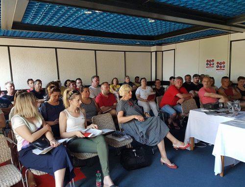 Izvanredni tečaj za aktiviste i povjerenike Sindikata Novine