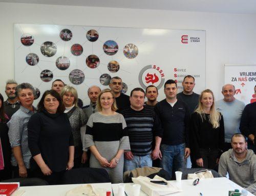 """Tečaj """"Uštekaj se u sindikat – UČLANJIVANJE I AKTIVIZAM"""" u Zagrebu"""